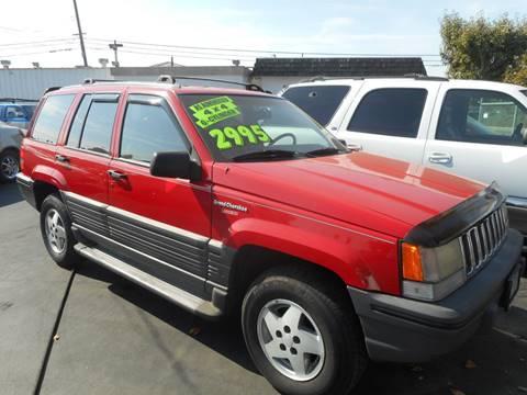 1993 Jeep Grand Cherokee for sale in Modesto, CA