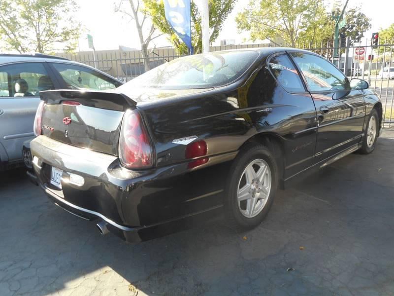 2002 Chevrolet Monte Carlo SS 2dr Coupe - Modesto CA