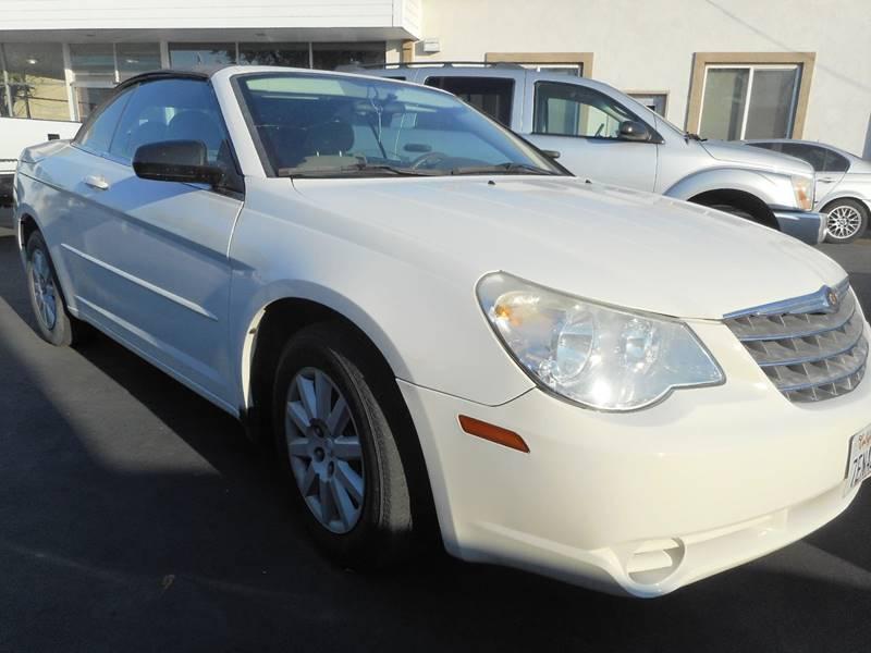 2008 Chrysler Sebring LX 2dr Convertible - Modesto CA