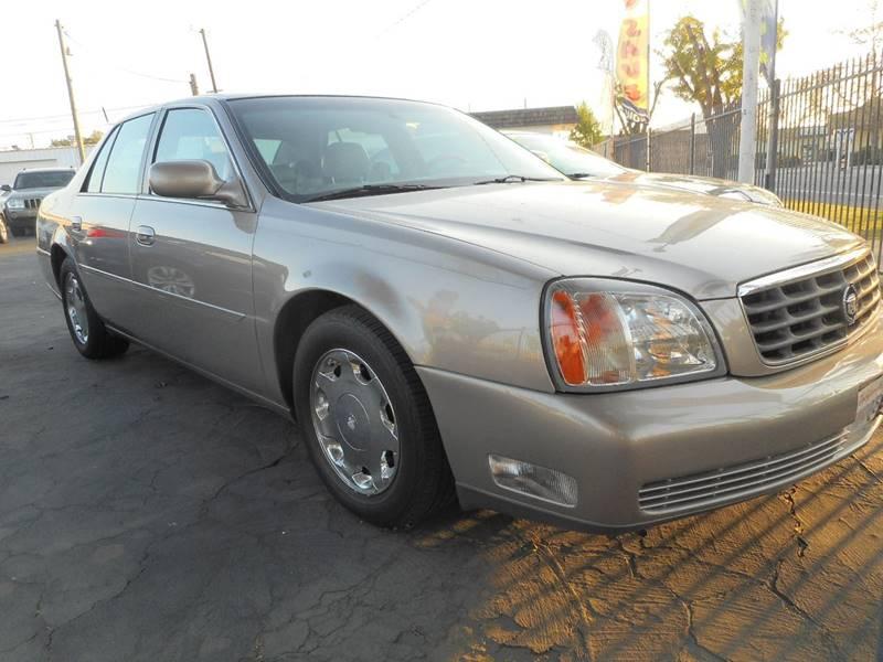 2001 Cadillac DeVille DHS 4dr Sedan - Modesto CA
