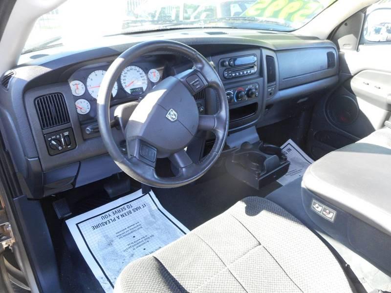 2005 Dodge Ram Pickup 1500 2dr Regular Cab SLT Rwd SB - Modesto CA