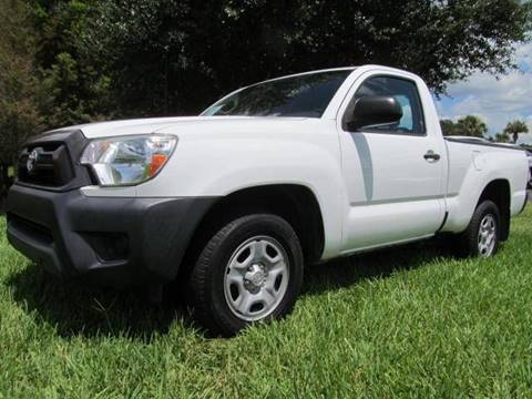 2014 Toyota Tacoma for sale at Blue Book Cars in Sanford FL
