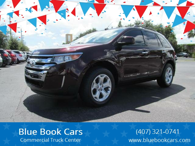 Ford Edge Sel Dr Crossover Sanford Fl