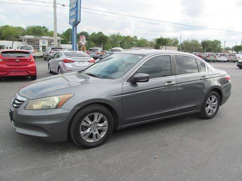 2011 Honda Accord for sale at Blue Book Cars in Sanford FL