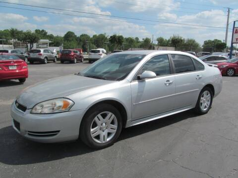 2012 Chevrolet Impala for sale at Blue Book Cars in Sanford FL