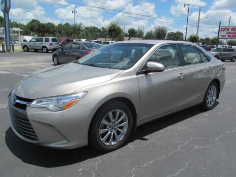 2015 Toyota Camry for sale at Blue Book Cars in Sanford FL
