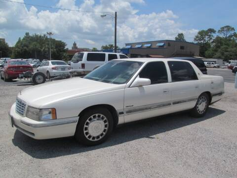 1998 Cadillac DeVille for sale at Blue Book Cars in Sanford FL