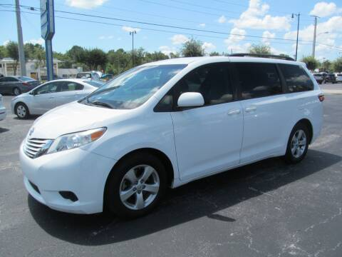 2015 Toyota Sienna for sale at Blue Book Cars in Sanford FL