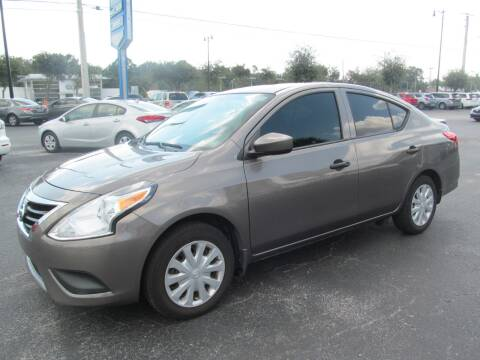 2016 Nissan Versa for sale at Blue Book Cars in Sanford FL