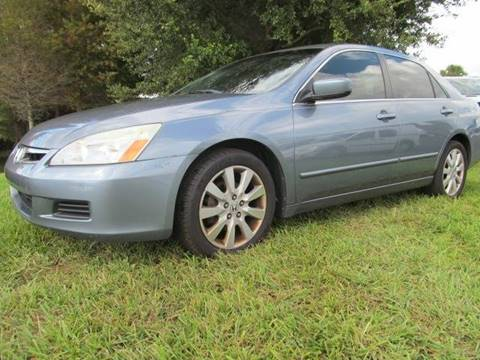 2007 Honda Accord for sale at Blue Book Cars in Sanford FL