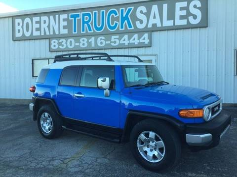 2007 Toyota FJ Cruiser for sale in Boerne, TX