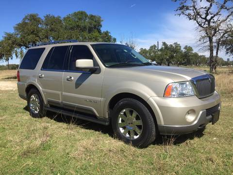 2004 Lincoln Navigator for sale in Boerne, TX