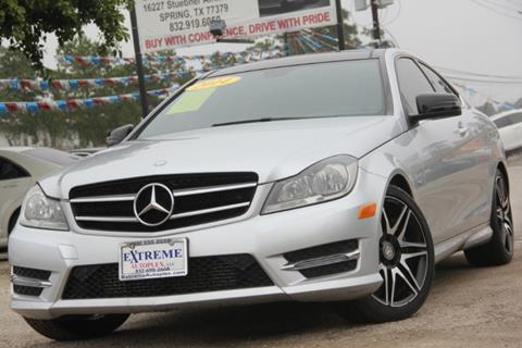 2014 Mercedes-Benz C-Class for sale in Spring, TX