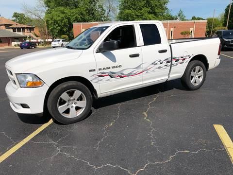 2012 RAM Ram Pickup 1500 for sale in Marshall, TX