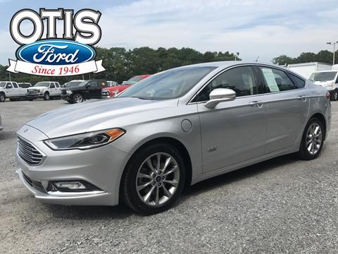 2017 Ford Fusion Energi for sale in Quogue, NY