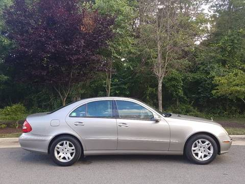 2003 Mercedes-Benz E-Class for sale at M & M Auto Brokers in Chantilly VA