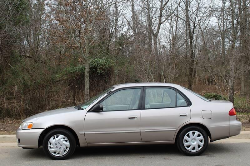 Toyota Corolla CE Dr Sedan In Chantilly VA M M Auto Brokers - 2001 corolla