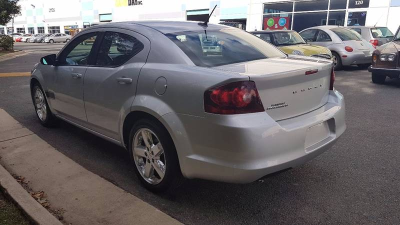 2012 Dodge Avenger SE 4dr Sedan In Chantilly VA  M  M Auto Brokers