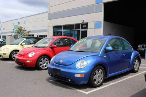 2001 Volkswagen Beetle for sale at M & M Auto Brokers in Chantilly VA
