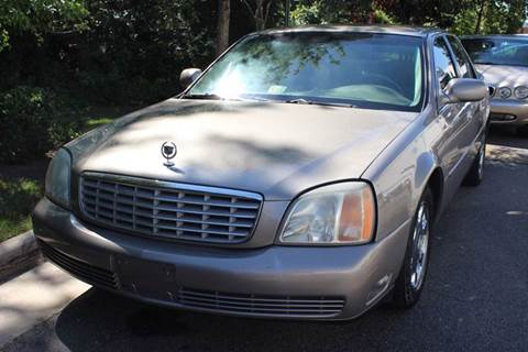 2002 Cadillac DeVille for sale at M & M Auto Brokers in Chantilly VA