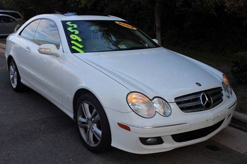 2008 Mercedes-Benz CLK for sale at M & M Auto Brokers in Chantilly VA