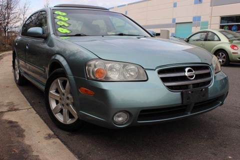 2002 Nissan Maxima for sale at M & M Auto Brokers in Chantilly VA