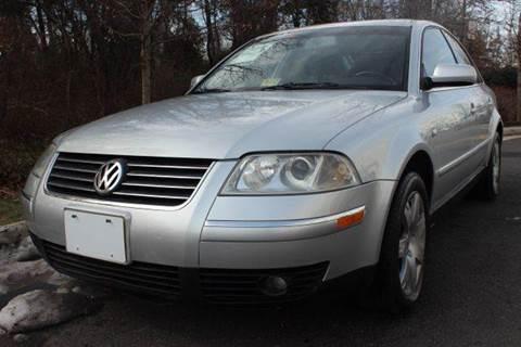 2002 Volkswagen Passat for sale at M & M Auto Brokers in Chantilly VA