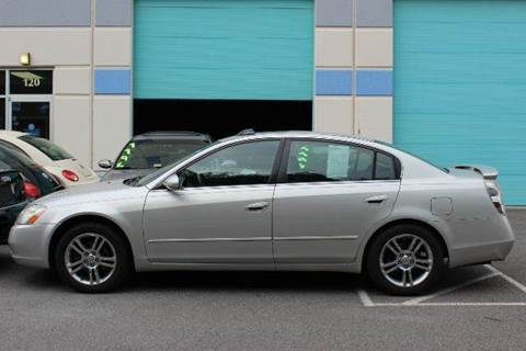 2003 Nissan Altima for sale at M & M Auto Brokers in Chantilly VA