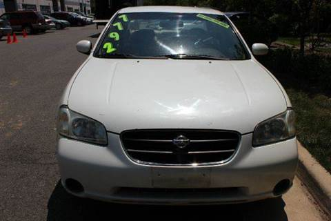 2001 Nissan Maxima for sale at M & M Auto Brokers in Chantilly VA