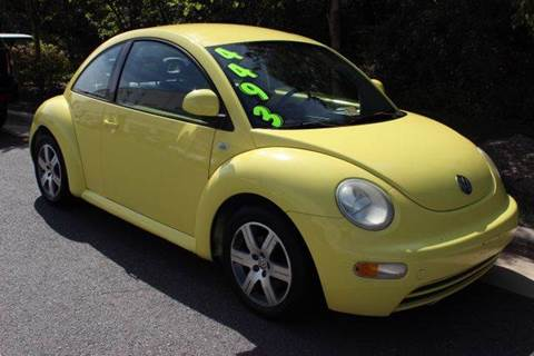 1999 Volkswagen New Beetle for sale at M & M Auto Brokers in Chantilly VA
