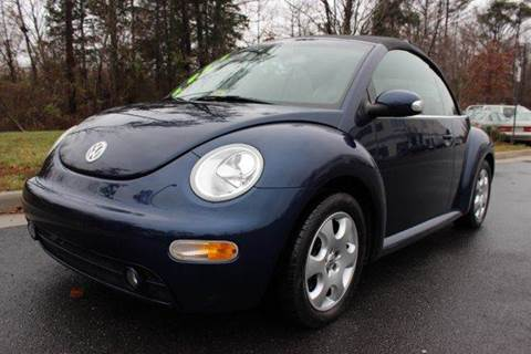 2004 Volkswagen New Beetle for sale at M & M Auto Brokers in Chantilly VA