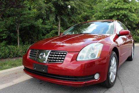 2006 Nissan Maxima for sale at M & M Auto Brokers in Chantilly VA