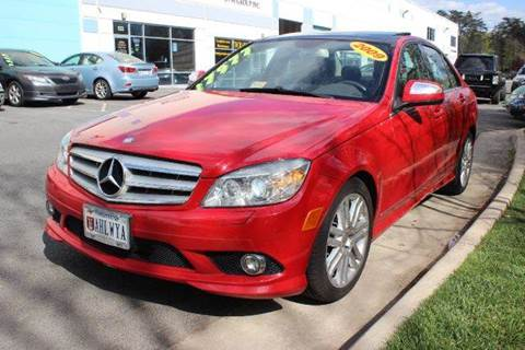 2009 Mercedes-Benz C-Class for sale at M & M Auto Brokers in Chantilly VA