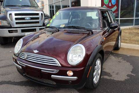 2003 MINI Cooper for sale at M & M Auto Brokers in Chantilly VA