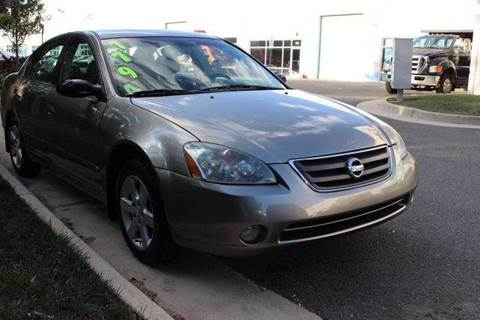 2004 Nissan Altima for sale at M & M Auto Brokers in Chantilly VA