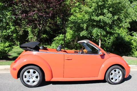 2003 Volkswagen New Beetle for sale at M & M Auto Brokers in Chantilly VA