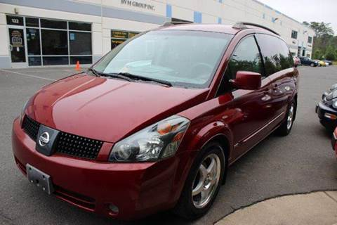 2006 Nissan Quest for sale at M & M Auto Brokers in Chantilly VA