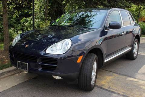 2004 Porsche Cayenne for sale at M & M Auto Brokers in Chantilly VA
