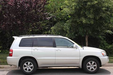 2007 Toyota Highlander for sale at M & M Auto Brokers in Chantilly VA