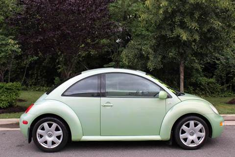 2001 Volkswagen New Beetle for sale at M & M Auto Brokers in Chantilly VA