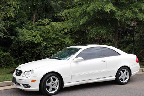 2004 Mercedes-Benz CLK-Class for sale at M & M Auto Brokers in Chantilly VA