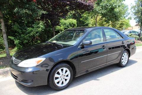 2002 Toyota Camry for sale at M & M Auto Brokers in Chantilly VA