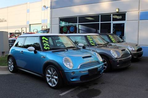 2002 MINI Cooper for sale at M & M Auto Brokers in Chantilly VA