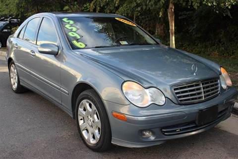 2005 Mercedes-Benz C-Class for sale at M & M Auto Brokers in Chantilly VA