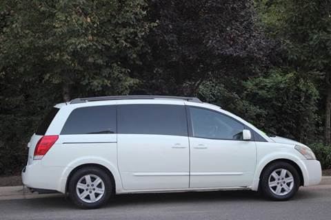 2004 Nissan Quest for sale at M & M Auto Brokers in Chantilly VA