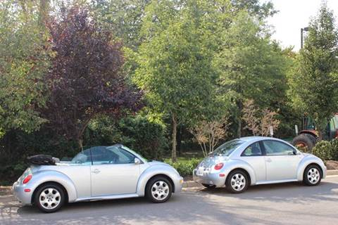 2002 Volkswagen New Beetle for sale at M & M Auto Brokers in Chantilly VA