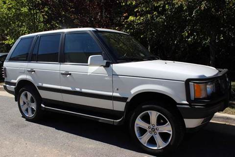 2000 Land Rover Range Rover for sale at M & M Auto Brokers in Chantilly VA