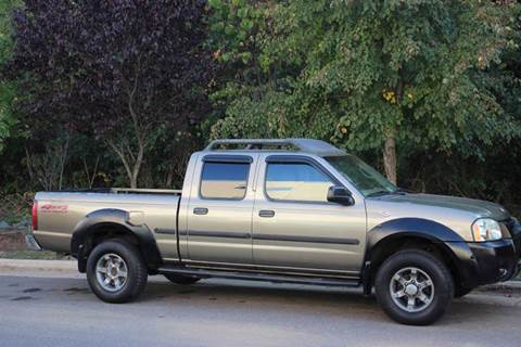 2002 Nissan Frontier for sale at M & M Auto Brokers in Chantilly VA