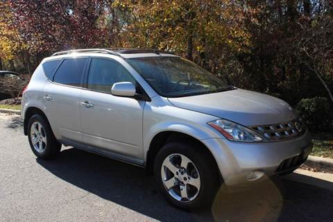 2005 Nissan Murano for sale at M & M Auto Brokers in Chantilly VA