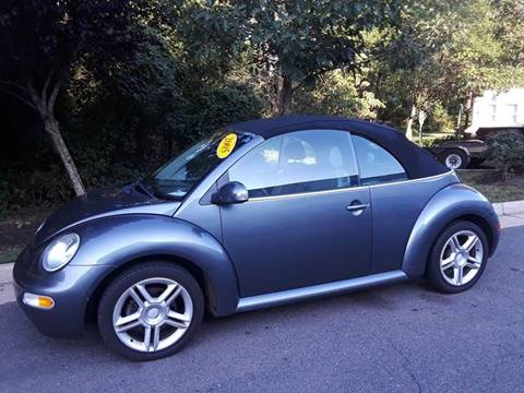 2005 Volkswagen New Beetle for sale at M & M Auto Brokers in Chantilly VA